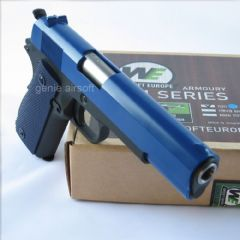 WE 1911A1 Full Metal 2-Tone Gas Airsoft Pistol